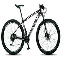 Bicicleta Aro 29 Dropp Rs1 Pro 27v Alivio, Fr. Hidra E Trava - Preto/branco - 17