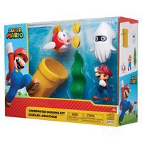 Super Mario - Underwater Diorama