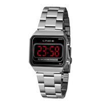 Relógio Lince Mdm4645l Pxsx Digital Feminino Prata