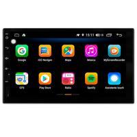 Multimídia Polo 2004 2005 2006 2007 2008 2009 2010 2011 2012 Tela 7´´ Android 9.0 Gps Câmera De Ré E Frontal Tv Digital 2gb Aikon