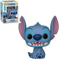 Boneco Funko Pop Disney Lilo & Stitch - Stitch Flocked 1045
