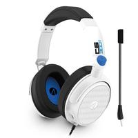 Stealth C6-300v Stereo Gaming Headset (branco E Azul) - Ps5, Ps4, Xbox-one, Xbox-series X, Switch, Pc E Celulares