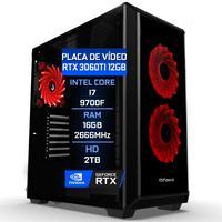 Pc Gamer Fácil Asus Intel Core I7 9700f 16gb Ddr4 Hd 2tb Geforce Rtx 3060 12gb - 750w