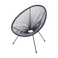 Cadeira Acapulco Preta - Or Design