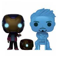 Funko Pop Marvel Vingadores Ultimato - Morgan Stark e Tony Stark