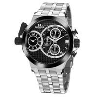 Relógio Seculus Masculino Prime Prata 20945gpsvca1
