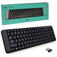 Teclado Logitech K230, USB, Wireless, Preto