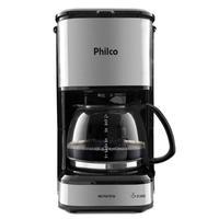 Cafeteira Inox Plusbase, com aquecimento, 1.2 Litros - Pcf42i - Philco