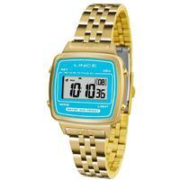 Relógio Feminino Lince Digital Sdph042l Bakx Dourado