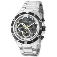 Relógio Masculino Magnum Analógico Ma34281y - Prata