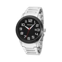 Relógio Masculino Magnum Analogico Ma32890t - Prata