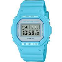Relógio G-shock Dw-5600sc-2dr Azul Claro