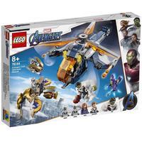 Lego Super Heroes Marvel - Resgate De Helicóptero Dos Vingadores Hulk - 76144