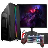 Pc Gamer Completo Fácil, Intel I3 10100f, décima Geração, 8gb, Gt 420, 4gb, Ssd 240gb, Monitor 21 - Fonte 500w