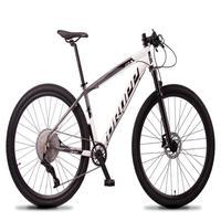 Bicicleta Aro 29 Dropp Z7x 12v Absolute, C/trava E Fr. Hidra - Cinza/branco - 17''