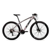 Bicicleta Aro 29 Ksw 27 Marchas Freio Hidráulico E Trava/k7 Cor:grafite/pretotamanho Do Quadro:15pol - 15pol