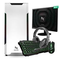 Kit - Pc Gamer Start Nli82892 Amd 320ge 8gb (vega 3 Integrado) Ssd 240gb + Monitor 19,5