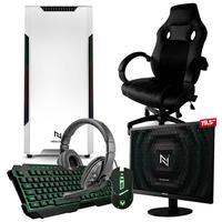 Pc Gamer Completo Start Nli82944 Amd 320ge 16gb (vega 3 Integrado) Ssd 120gb + Cadeira Gamer