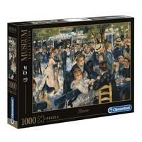 Puzzle 1000 Peças Renoir - O Baile No Le Moulin De La Galette - Clementoni - Importado
