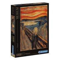 Puzzle 1000 Peças Munch - O Grito - Clementoni - Importado