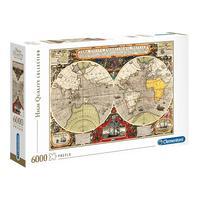 Puzzle 6000 Peças Mapa Náutico Antigo - Clementoni – Imp.