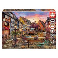 Puzzle 3000 Peças Colmar, França -educa -importado