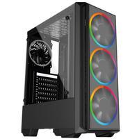 Pc Gamer Intel 10a Geração Core I3 10100f, Geforce Gtx 1050 Ti 4gb, 8gb Ddr4 2666mhz, Hd 1tb, Ssd 120gb, 500w, Skill Pcx