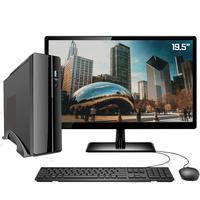 Computador Completo Amd Athlon 3000g 4gb  placa De Vídeo Radeon R5  Hd 1tb + Ssd Monitor 19 Hdmi Windows 10 Pro Hdmil Full Hd Dc Slim2