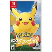 Pokemon: Let's Go, Pikachu! - Switch